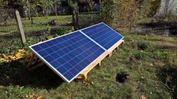 insel-solaranlage fürs gartenhaus